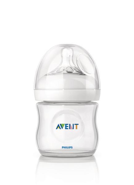 Avent Шише за хранене антиколик Natural 125 ml 0430
